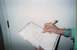 Imagine having a Magic Pencil that writes a story and corrects all spelling errors!