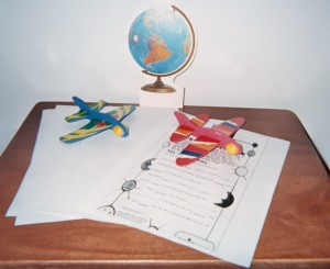 Storytelling Airplanes ready for takeoff on a journey around the world!