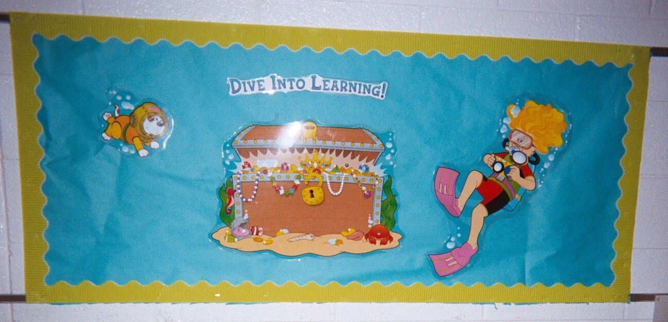 Classroom decoration ideas for teachers - Into Learning Bulletin Board To Spark Other Classroom Activities