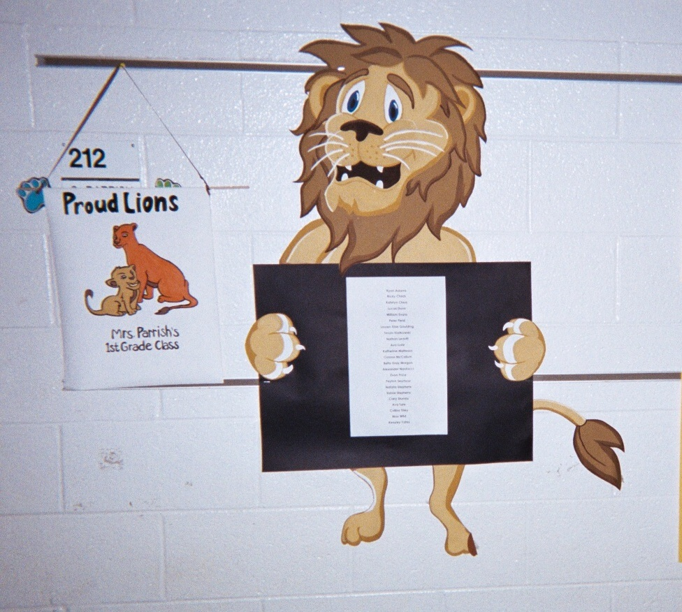 Lions proud to pay attention!