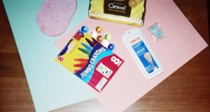 "An ""opportunity bag"" with contents that represent activities for school vacation time"