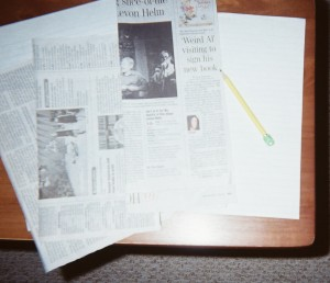 """""""Plant"""" opportunities for recycling and reusing newspapers in your Idea Garden."""