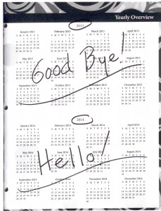 """It's time to say """"Good Bye 2013,"""" and """"Hello 2014!"""""""