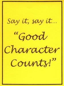 Make a Bulletin Board: Good Character Counts!