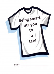 Reward students with a T-shirt design that applauds being smart.