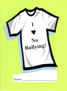 I ♥ No Bullying is a message that suits all kids to a tee!