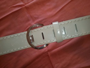 First buckle a belt on the tightest notch. Is there room for this belt to grow like a child's mind? Yes!