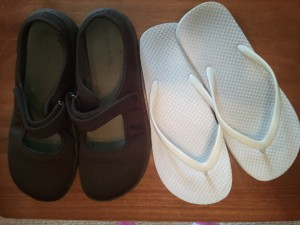 Host a Shoe Show that includes closed shoes and ones that let toes poke out. Kids will wonder...why the show?