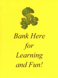 Post an eye-catching bulletin board in your classroom with a banking theme that earns big dividends!